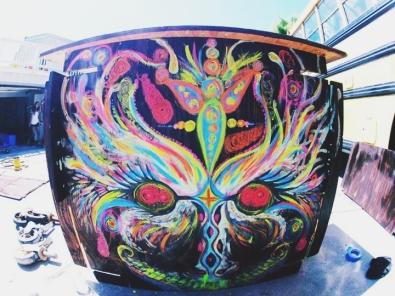 Burning Man Bar | Collab with James Sauter | USA 2012