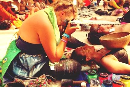 Burning Man Temple | USA 2013