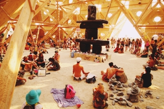 Burning Man Temple | USA 2013