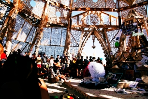 The Temple | Burning Man Festival | USA 2014