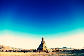 Burning Man Temple | USA 2014